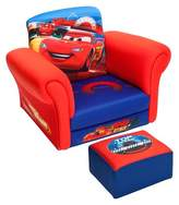 Cars Upholstered Chair with Ottoman Disney Pixar Delta Children