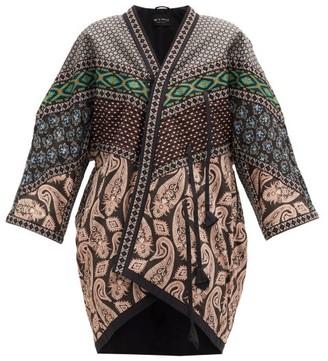 Etro Cynthia Bead-embroidered Paisley-print Jacket - Womens - Black Multi