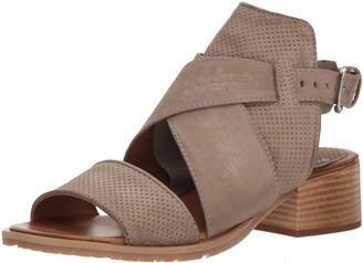 Miz Mooz Women's Fiji Heeled Sandal Pebble 39 EU