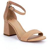 GB Block-Party Ankle Strap Block Heel Dress Sandals
