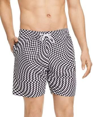 BOARDIES Checkered Swim Shorts
