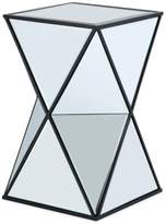 Bed Bath & Beyond Glam Angular Mirror Accent Side Table