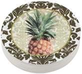 "Mariposa Pineapple 4"" Coaster"