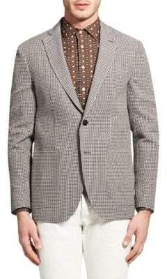 Etro Deconstructed Cotton & Linen Jacket