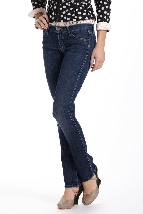 Anthropologie Mother Rascal Straight Leg Jeans