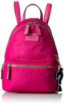 GUESS Cool School Small Leeza Backpack-Hot Pink