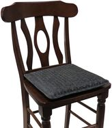 Bed Bath & Beyond Klear Vu 15-Inch Square Yolanda Gripper® Chair Pad in Grey