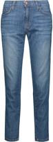 Current/Elliott The Fling mid-rise cropped boyfriend jeans