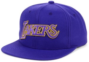 Mitchell & Ness Los Angeles Lakers Team Gold Snapback Cap