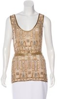 Matthew Williamson Embellished Sleeveless Top