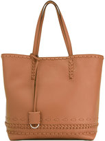 Tod's braided details tote - women - Calf Leather/Leather/Suede - One Size