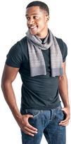 Muk Luks Men's Nordic Pattern Scarf - Grey