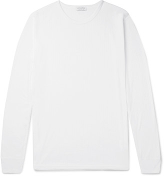 Sunspel Thermal Jersey Pyjama T-Shirt