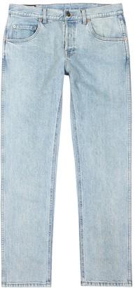 Gucci Light blue slim-leg jeans