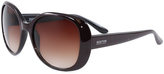 Kenneth Cole Shiny Wine & Brown Gradient Sunglasses
