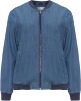 Junarose Plus Size Denim bomber jacket