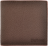 Barbour Dry Grain Leather Wallet Brown