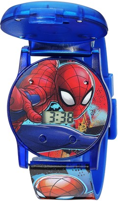 Marvel Boys' Quartz Watch with Plastic Strap