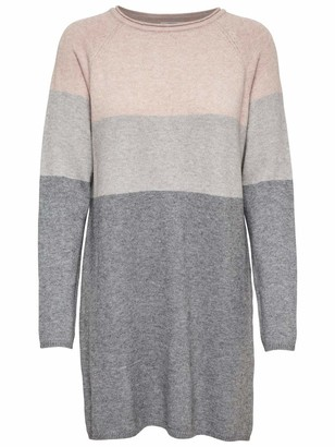 Only Women's Onllillo L/s Dress KNT Noos