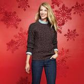 Jessica Women's Bouclé Knit Chunky Cabled Sweater