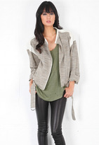 IRO Jake Jacket in White Multi -