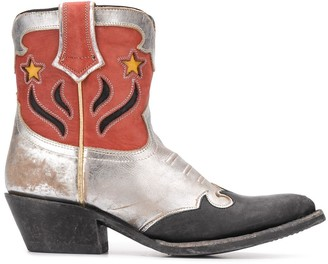 Ash Petras cowboy style boots