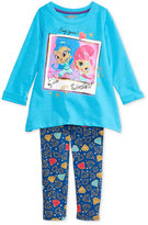 Nannette Nickelodeon's Shimmer and Shine 2-Pc. Top & Leggings Set, Toddler Girls (2T-5T) & Little Girls (2-6X)