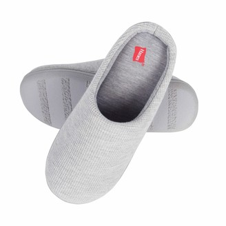 Hanes Women's Soft Waffle Knit Clog Slippers with Indoor/Outdoor Sole