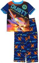 Disney Planes Boys Blue Poly Pajamas (S (6/7))