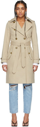 Mackage Beige Classic 3-In-1 Odel Trench Coat