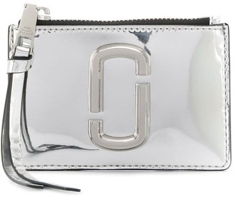 Marc Jacobs zip-up logo purse