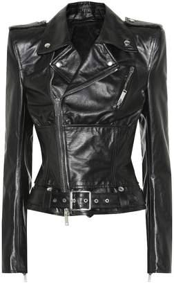 Unravel Leather biker jacket