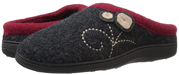 Acorn Dara (Charcoal Button) Women's Shoes