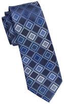 Kenneth Cole Reaction Diamond Print Silk Tie