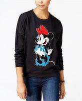 Freeze 24-7 Juniors' Disney Minnie Mouse Patch Sweatshirt