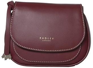 Radley London Harper Road - Small Flapover Bumbag (Merlot) Handbags