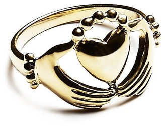 Agnes de Verneuil Claddagh Ring - Gold