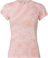 RE/DONE 1960s Pink Tie Dye Slim Tee