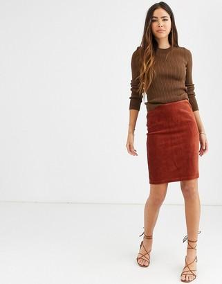 B.young mini skirt
