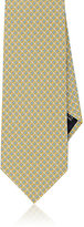 Salvatore Ferragamo Men's Silk Foulard Necktie-YELLOW
