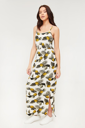Ardene ME to WE Basic Super Soft Pineapple Maxi Dress