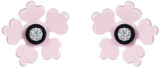 Gissa Bicalho Acrylic Handmade Earring Kit Flower - Candy Pink