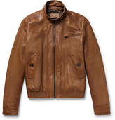 Prada Leather Café Racer Jacket