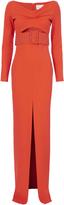 SOLACE London Adalene Belted Maxi Dress
