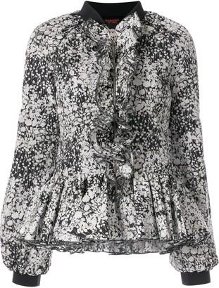 Giambattista Valli Floral Zipped Blouse