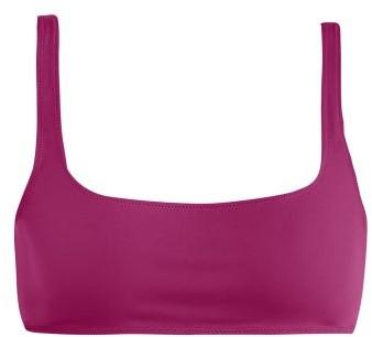 Rochelle Sara The Reynolds Bikini Top - Womens - Pink