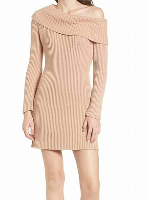 Somedays Lovin Women's Like A Melody Off The Shoulder Sweater Dress