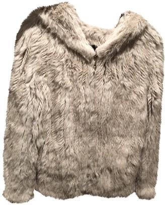 Meteo Beige Rabbit Coats