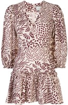 Alexis Idony abstract-print dress
