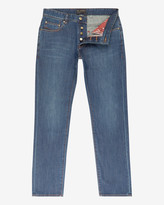 Straight Fit Cotton Jeans